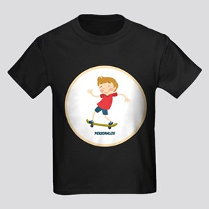 Gifts for Kids Personalized Skating T-Shirt