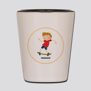 Gifts for Kids Personalized Skating Shot Glass