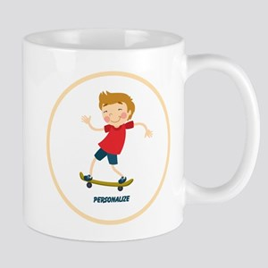 Gifts for Kids Personalized Skating Mugs