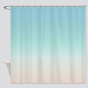 Aqua Shower Curtains