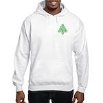 Baseball Tree Pocket Image Hooded Sweatshirt