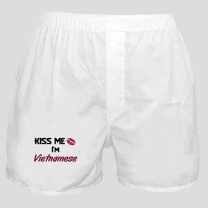 Kiss me I'm Vietnamese Boxer Shorts