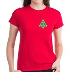 Baseball Tree Pocket Image Women's Dark T-Shirt