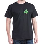 Baseball Tree Pocket Image Dark T-Shirt