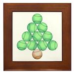 Baseball Tree Framed Tile