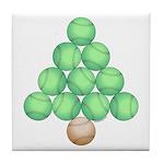 Baseball Tree Tile Coaster