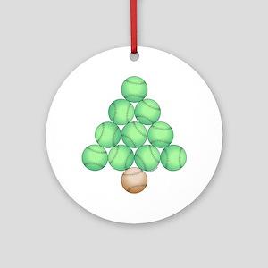 Baseball Tree Ornament (Round)