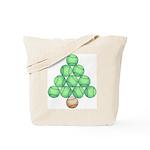 Baseball Tree Tote Bag