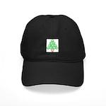 Baseball Tree Black Cap