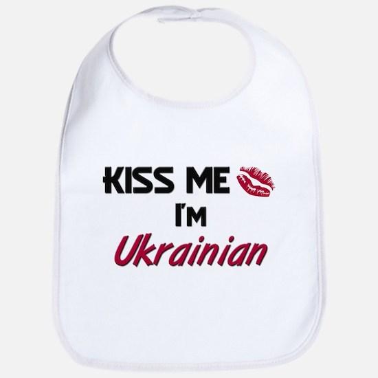 Kiss me I'm Ukrainian Bib