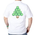 Baseball Tree Back Image Golf Shirt