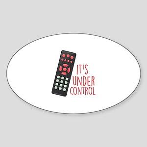 Under Control Sticker
