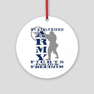 GF Fights Freedom - ARMY  Ornament (Round)