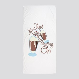 Keep Floating Beach Towel