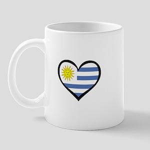Uruguay Love Mug