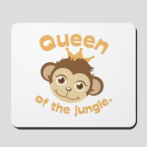 Queen Of Jungle Mousepad