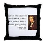 Thomas Paine 5 Throw Pillow