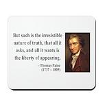 Thomas Paine 5 Mousepad