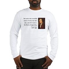 Thomas Paine 5 Long Sleeve T-Shirt