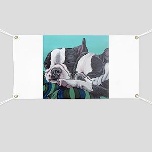 Boston Terrier Banner