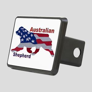 US Flag Aussie Hitch Cover