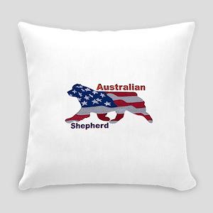 US Flag Aussie Everyday Pillow