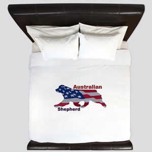 US Flag Aussie King Duvet
