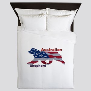 US Flag Aussie Queen Duvet