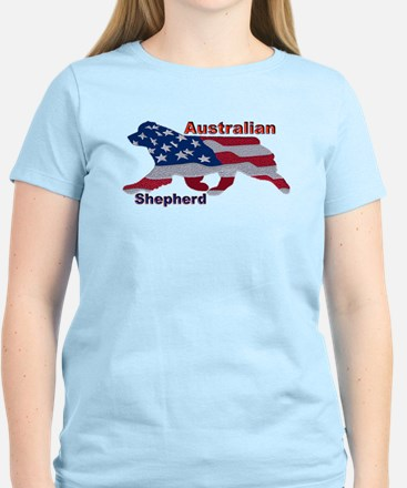 US Flag Aussie T-Shirt