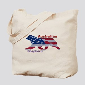 US Flag Aussie Tote Bag