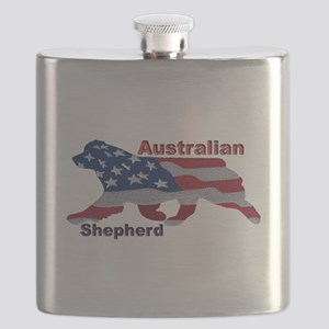 US Flag Aussie Flask