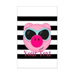 Cool Pink Pig Posters