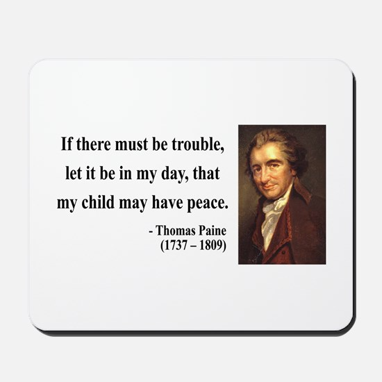 Thomas Paine 6 Mousepad