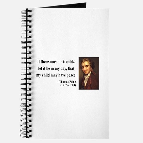 Thomas Paine 6 Journal
