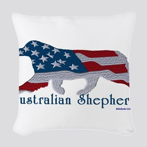 American Australian Shephard with a tail Woven Thr