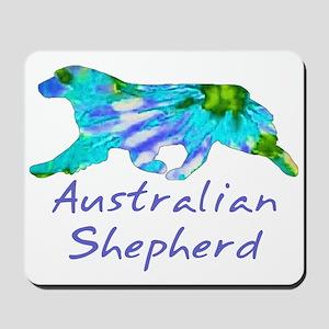 Tie Dye Aussie Mousepad