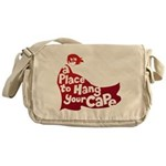 A Place To Hang Your Cape Official Messenger Bag