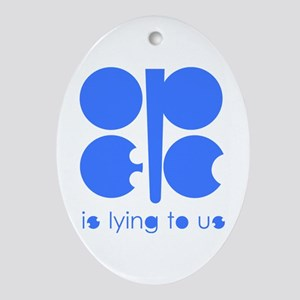 OPEC Lied Oval Ornament