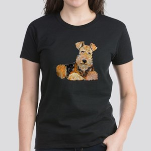 Airedale Happiness Ash Grey T-Shirt