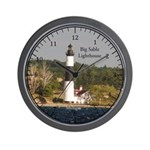 Big Sable Lighthouse Wall Clock