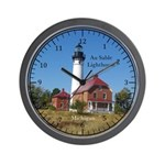 Au Sable Lighthouse Wall Clock