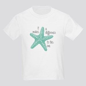 Makes a Difference Kids Light T-Shirt