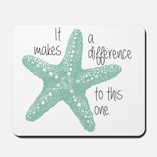 Makes a Difference Mousepad