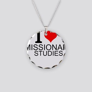 I Love Missionary Studies Necklace