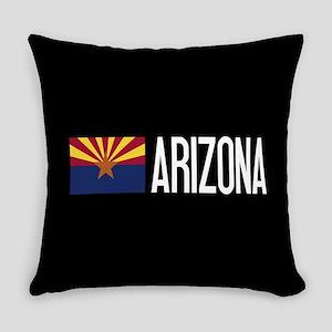 Arizona: Arizonan Flag & Arizona Everyday Pillow
