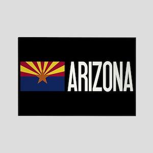 Arizona: Arizonan Flag & Arizona Rectangle Magnet