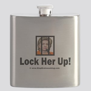 Lock Her Up Flask