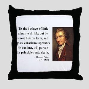 Thomas Paine 9 Throw Pillow
