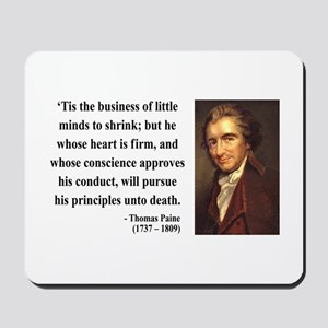 Thomas Paine 9 Mousepad
