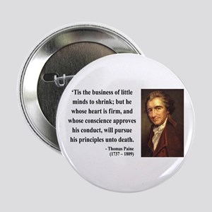 "Thomas Paine 9 2.25"" Button"